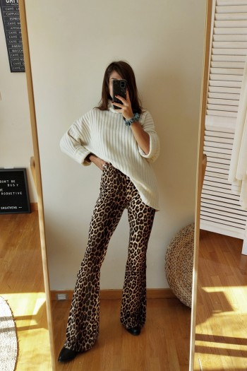 Fierce leopard flares