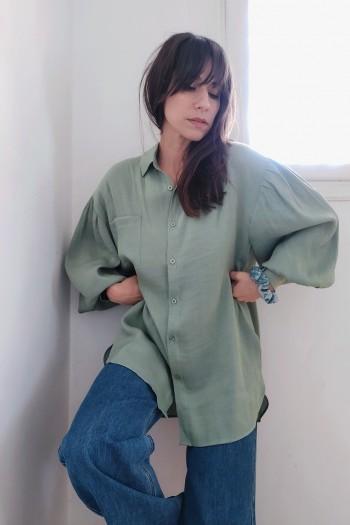 Glossy shirt