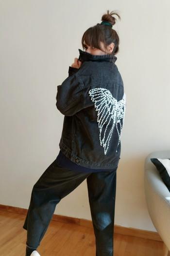 Pearl butterfly jacket