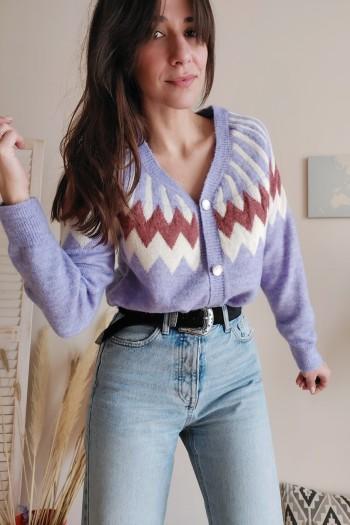 Omorose soft cardigan