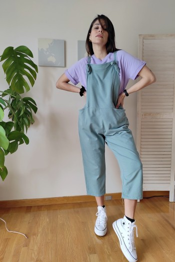Slouchy and loud jumpsuit