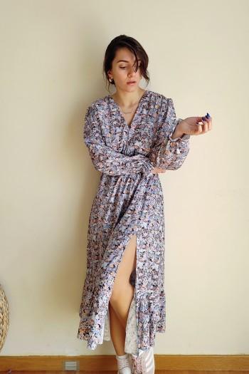 Light as dream floral dress