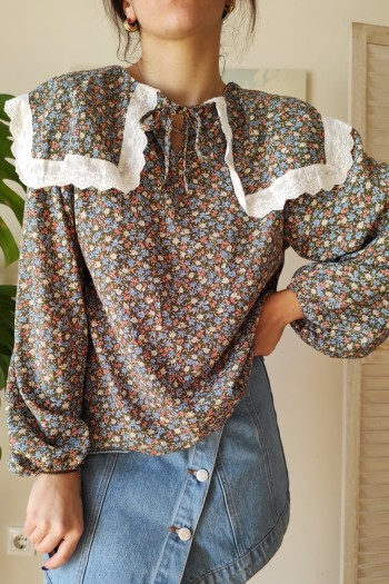 Heidy collared blouse