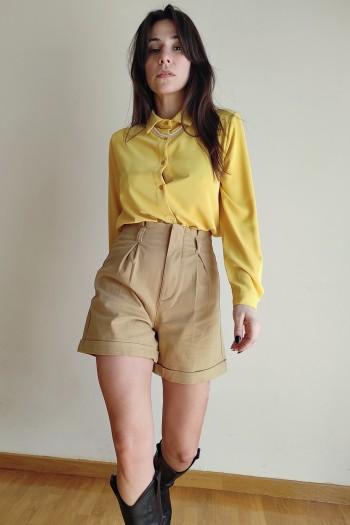 Highwaist bermuda shorts