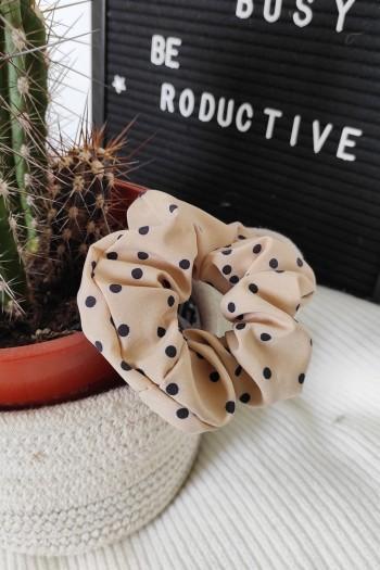 Lulu polka scrunchies