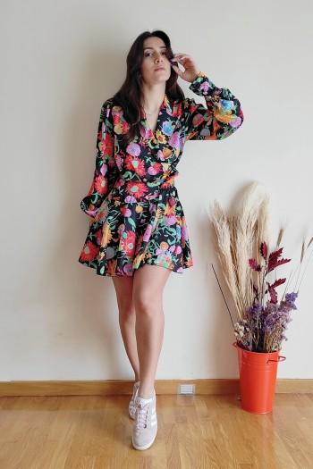 Very spring croisé dress