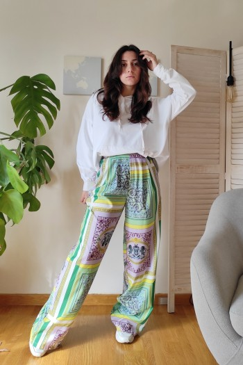 Balter wide leg trousers