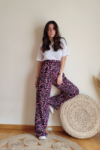 Nimiety wide leg trousers