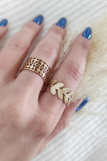 Motifs rings set
