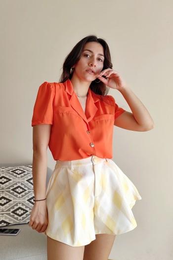 Vintage short sleeved shirt