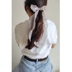 Tulle ribbon hairband