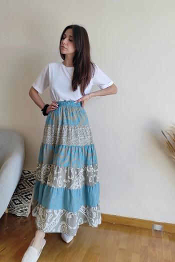 Gypsy A-line skirt