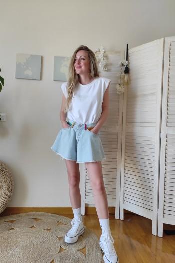 Painted extreme shorts