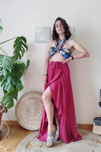 Baya ruffled skirt