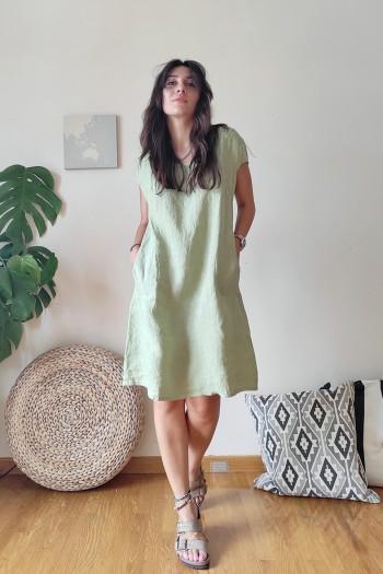 Doretta linen dress