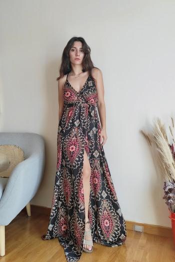 Aden cross back dress