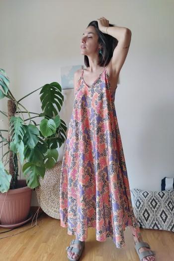 Luchia maxi swing dress