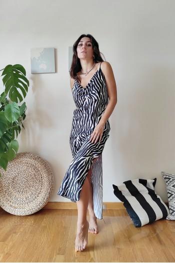 Sebra lingerie dress