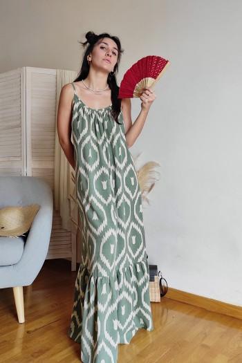 Ballera patterned dress