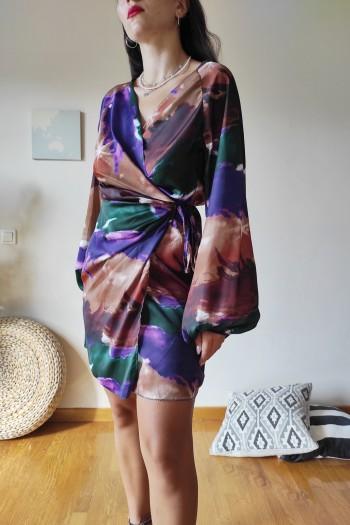 Verna tie dye dress