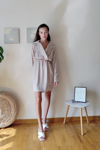 Zadora satin dress