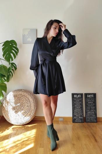 Zanha satin dress