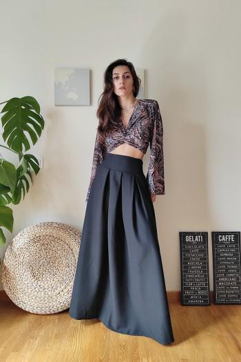 Legenda full maxi skirt
