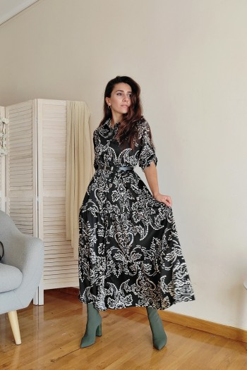Marambi button down dress