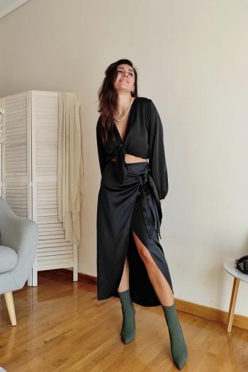Deane croise skirt