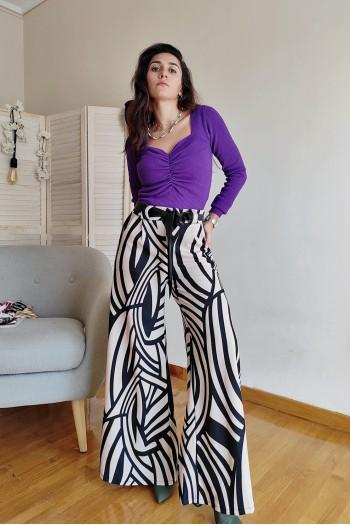 Janice wide leg trousers