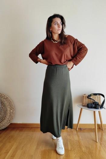 Rebecca maxi skirt